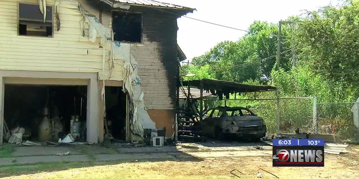Investigators determine grill caused fire in Duncan