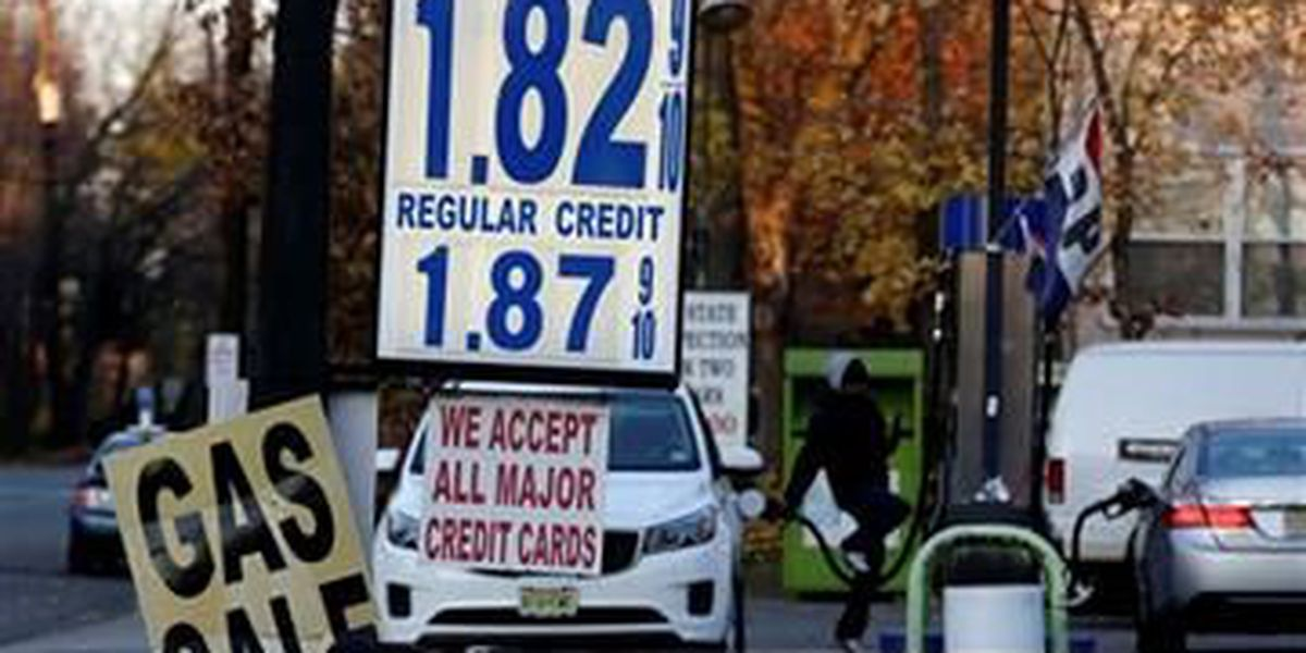 Cheap gas fueling expanded Thanksgiving travel day