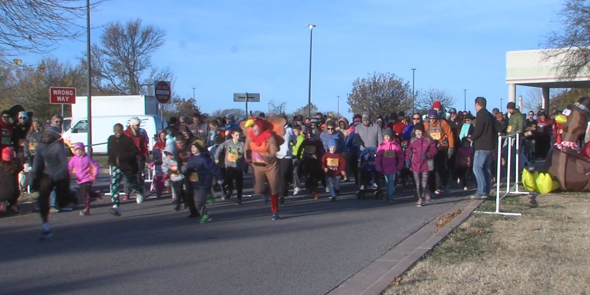 Lawton residents attend 6th annual Gobble Wobble