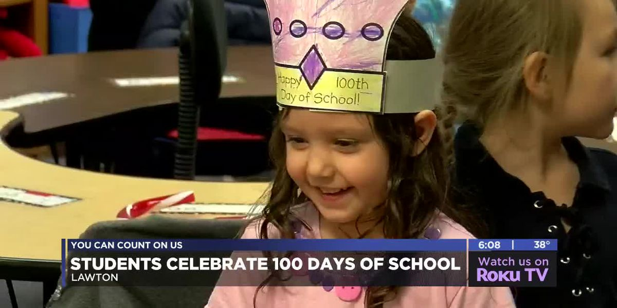 LPS celebrates 100th day of school