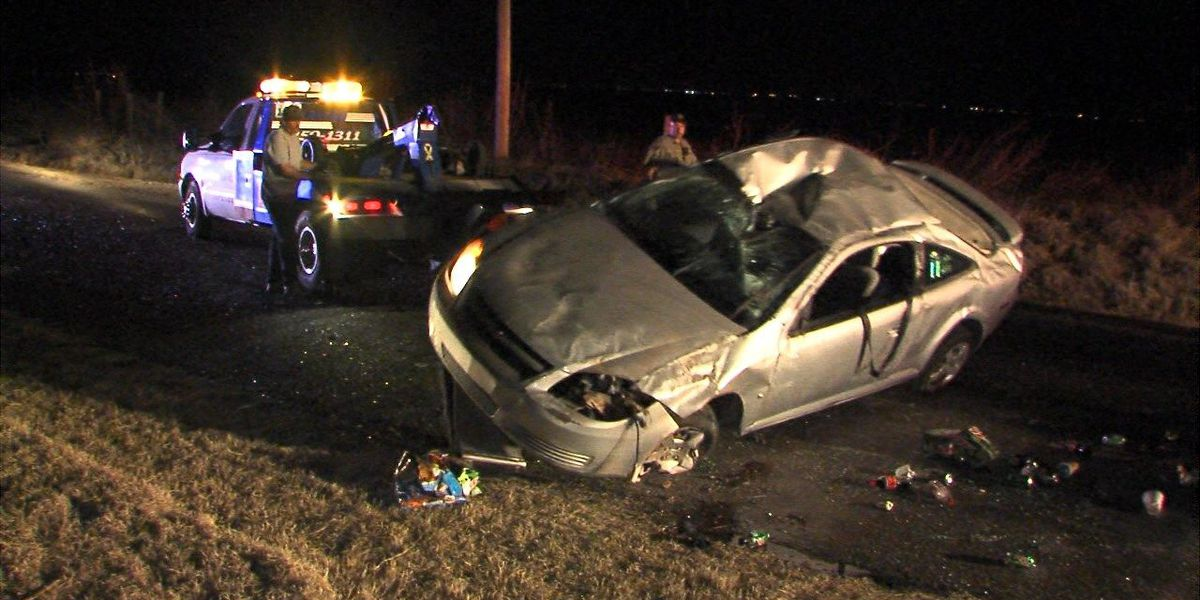 Driver seriously injured in rollover crash