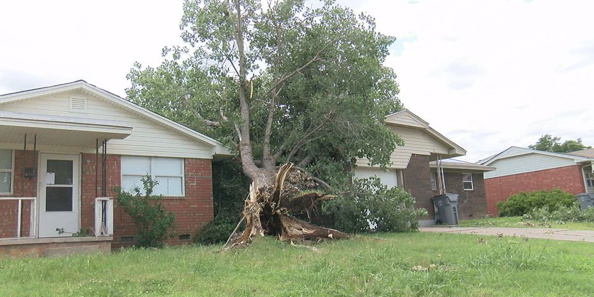 Storms cause damage to Lawton homes