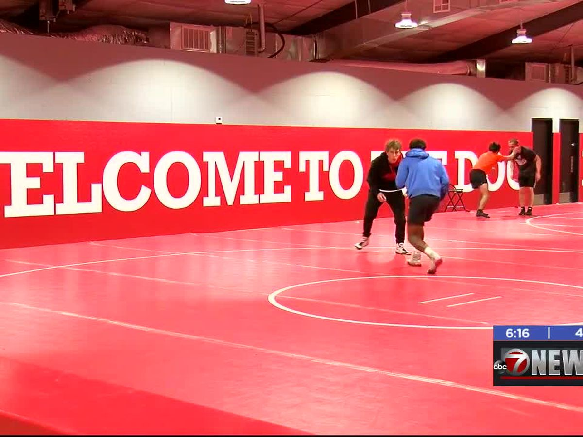 Cache wrestling team gets new practice gym