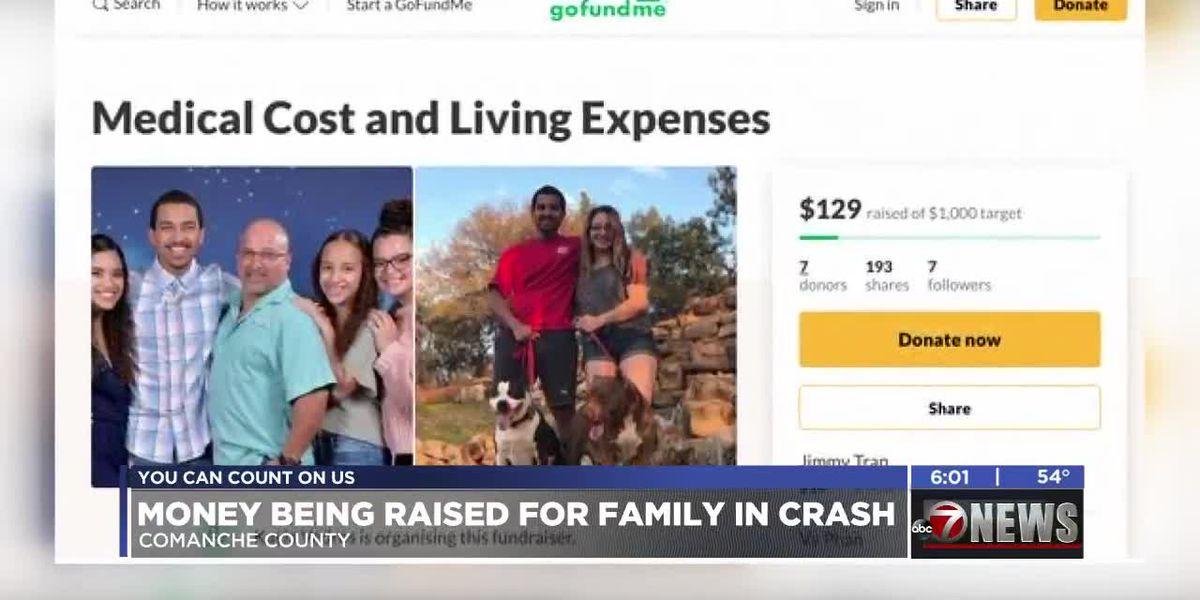 Money being raised for family in I-44 crash