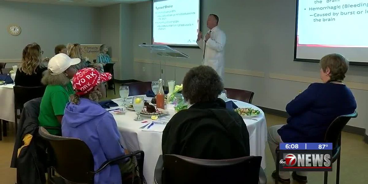 Comanche County Memorial Hospital hosts stroke awareness luncheon