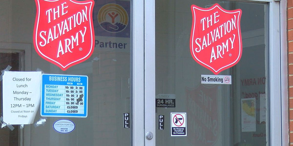 Lawton Salvation Army prepares for cold weekend