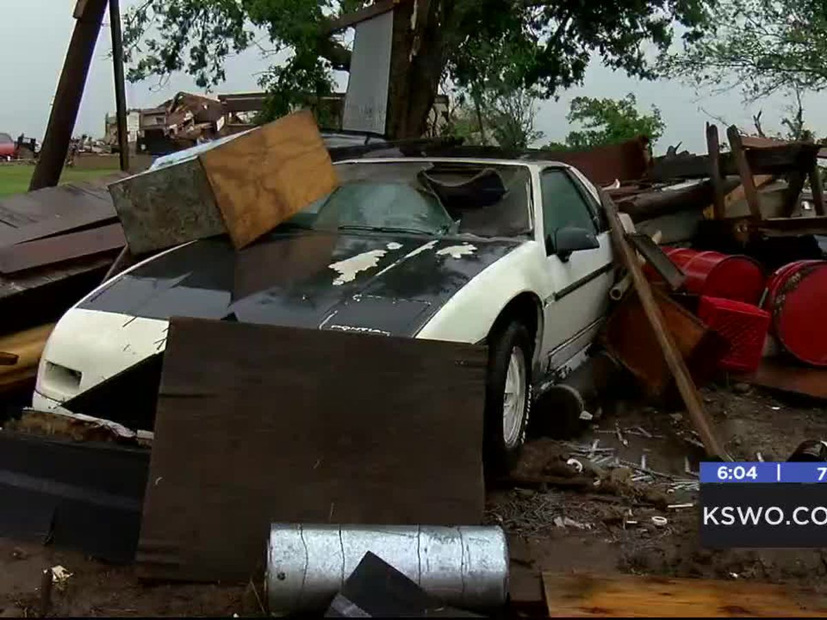 Responders and victim speak about Saturday tornado
