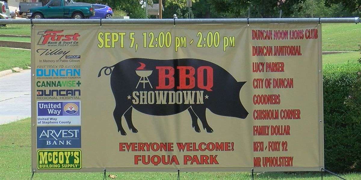 3rd annual BBQ Showdown happening in Duncan Saturday