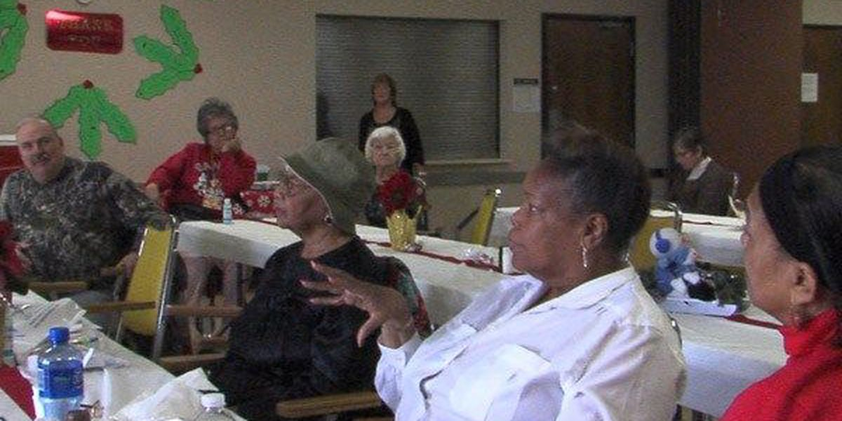 Senior citizens attend Holiday Awareness and Safety Bazaar