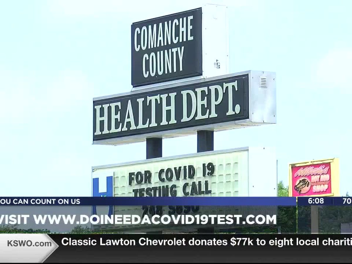 U.S. Department of Health and Human Services brings free COVID-19 testing to Oklahoma