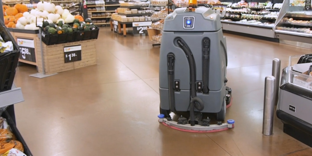 Walmart rolling out robot floor cleaners
