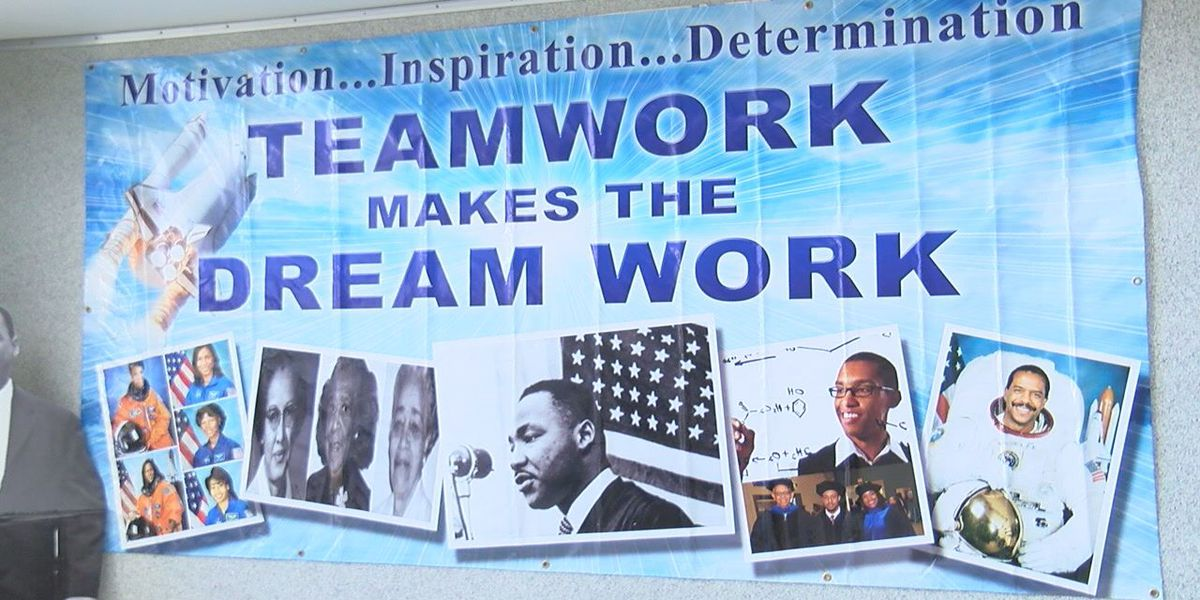 Students participated in annual Teamwork Makes The Dream Work event