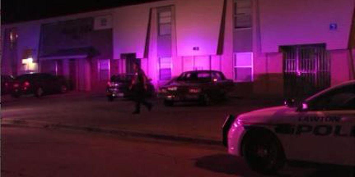 Man shot at Lawton apartment complex