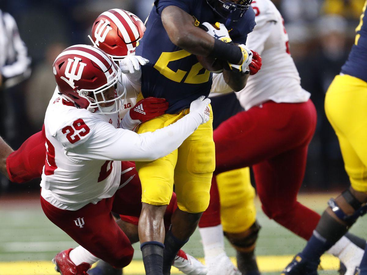 Michigan's Higdon stokes hype, predicts win over Ohio State