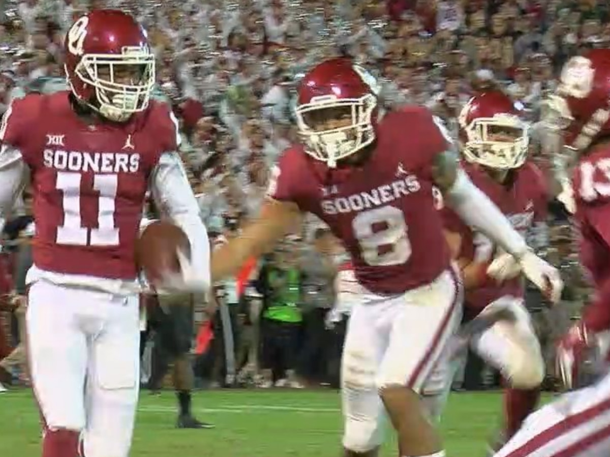 No. 5 Oklahoma survives Army 28-21 in overtime