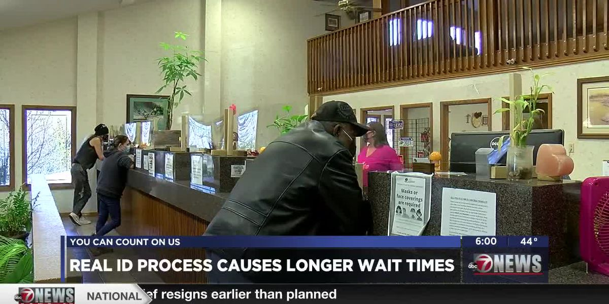 Tag agencies warn longer wait times due to Real ID process