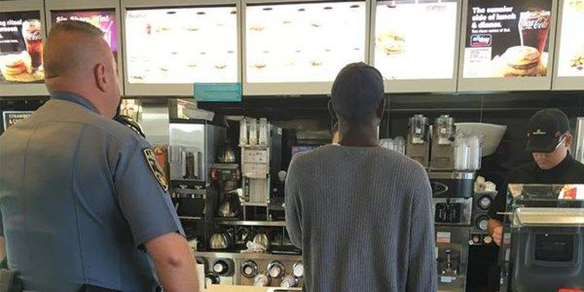 Protect and serve: Lawton officer buys man breakfast