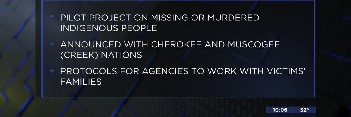 Missing and Murdered Indigenous Persons Pilot Project launches in Okla.