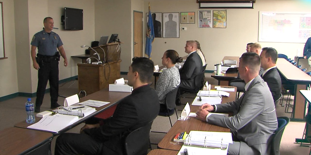 Eight Lawton Police Academy cadets are vying to be officers on the force