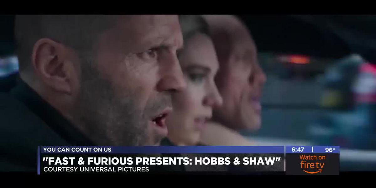 7News at the Movies: Hobbs & Shaw and more