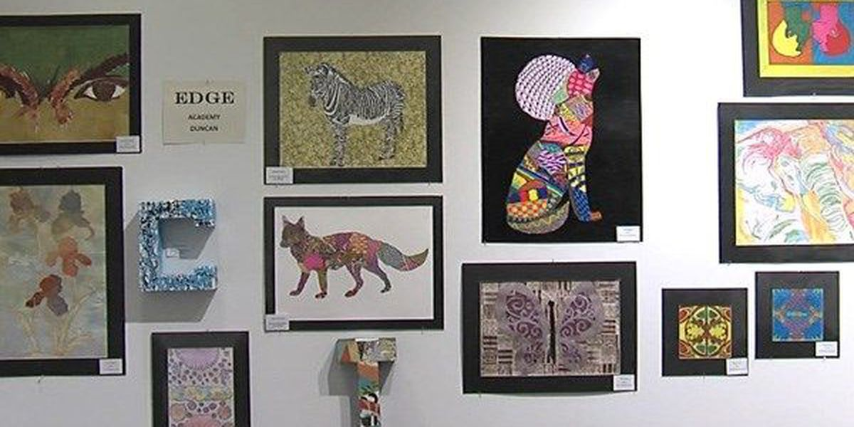 Art students showcased during Youth Art Month
