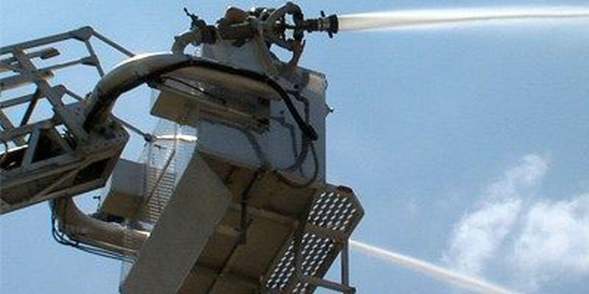 Firefighters battle in combat challenge