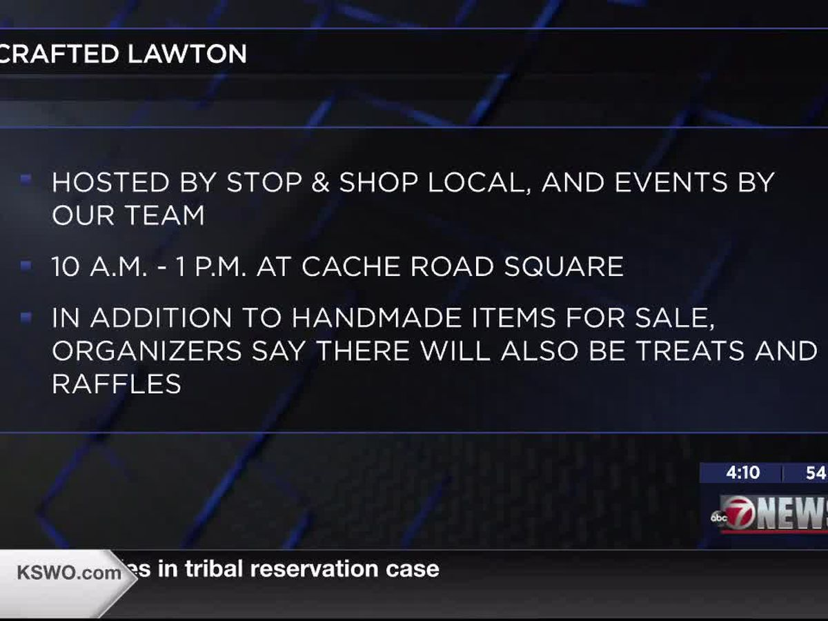 Crafted Lawton event offers shoppers opportunity to support local artisans