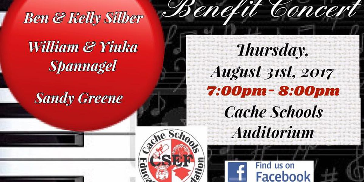 Aug 31st support the Cache Schools Education Foundation at their 4th annual benefit recital