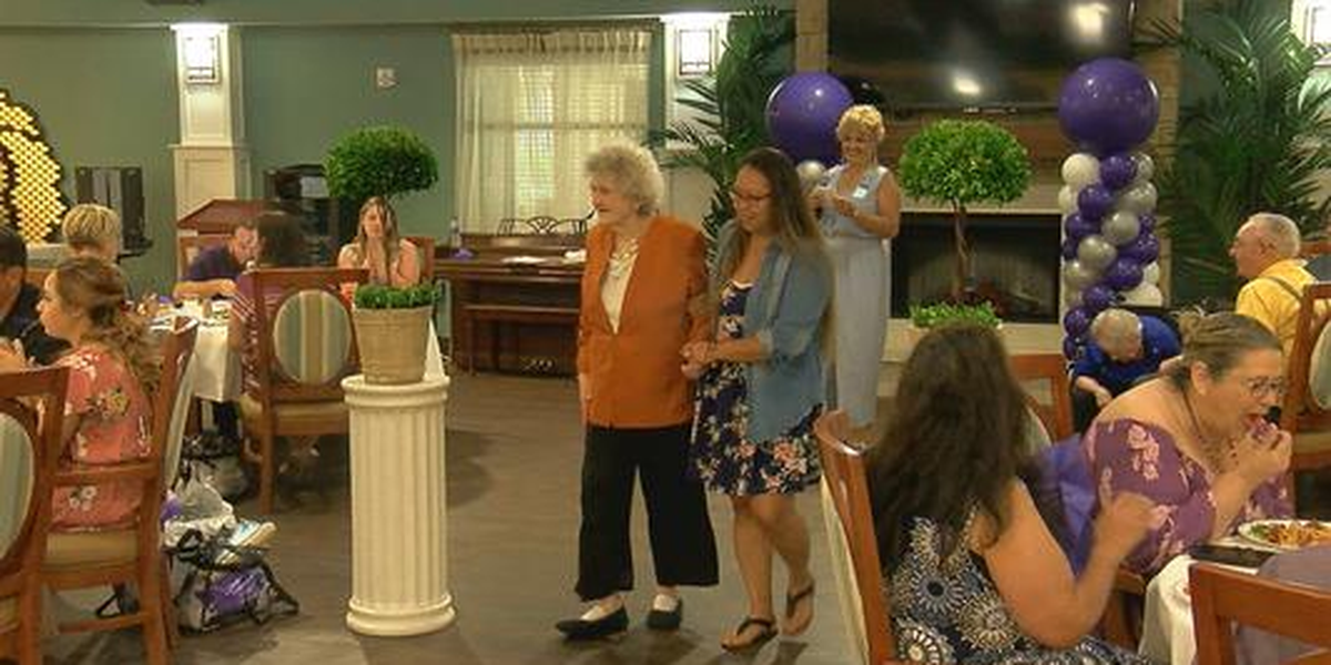 Lawton nursing home puts on fashion show to raise funds for upcoming Walk to End Alzheimer's