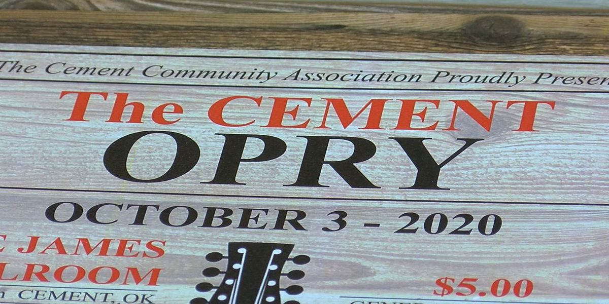 Cement residents hosting monthly opry, hope it will help revitalize town