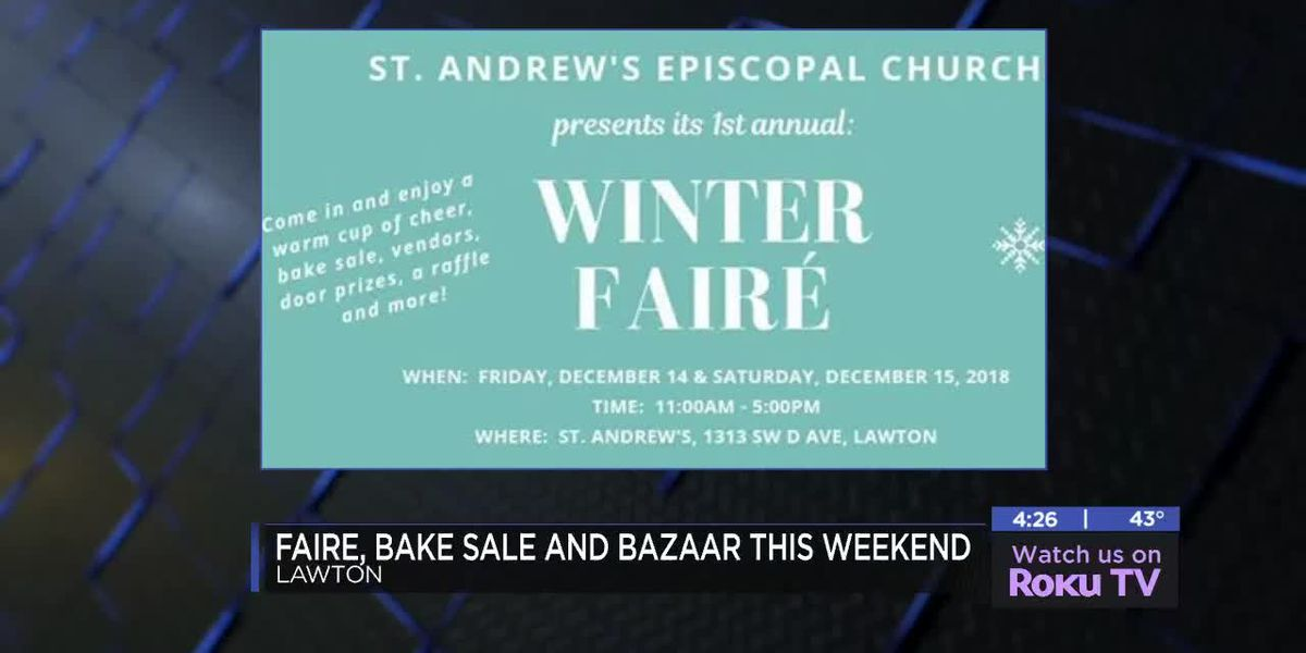 St. Andrew's Episcopal Church hosting Winter Faire and Bazaar