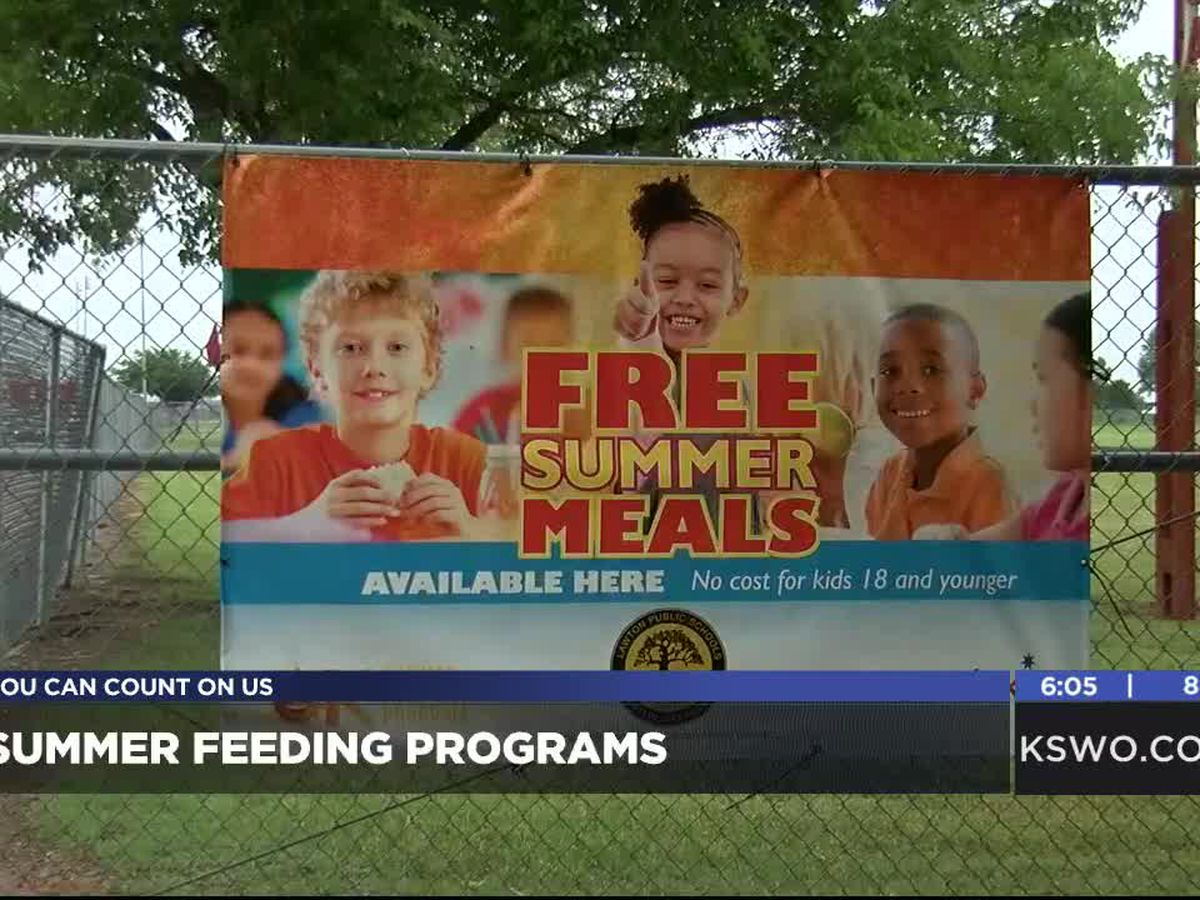 Summer feeding programs are back