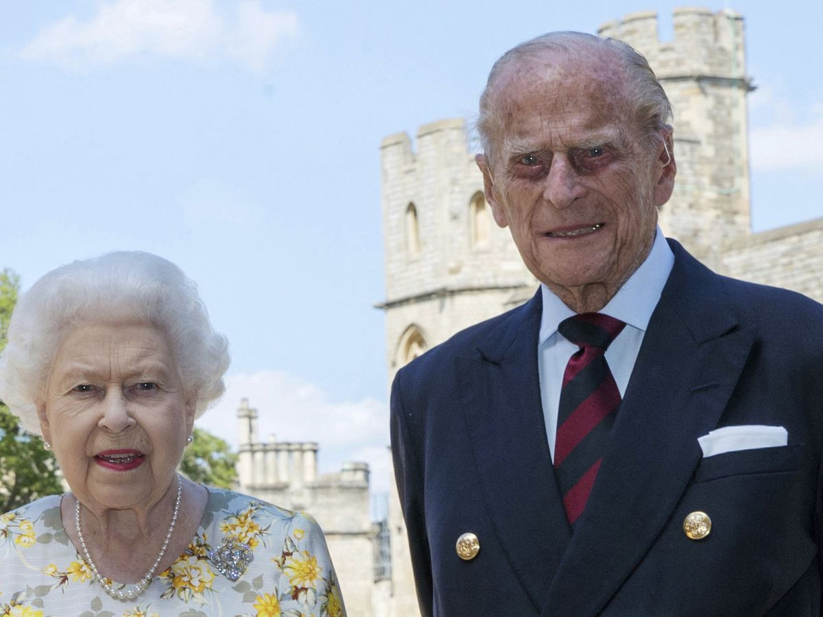 Camilla says hospitalized Prince Philip is 'slightly' better
