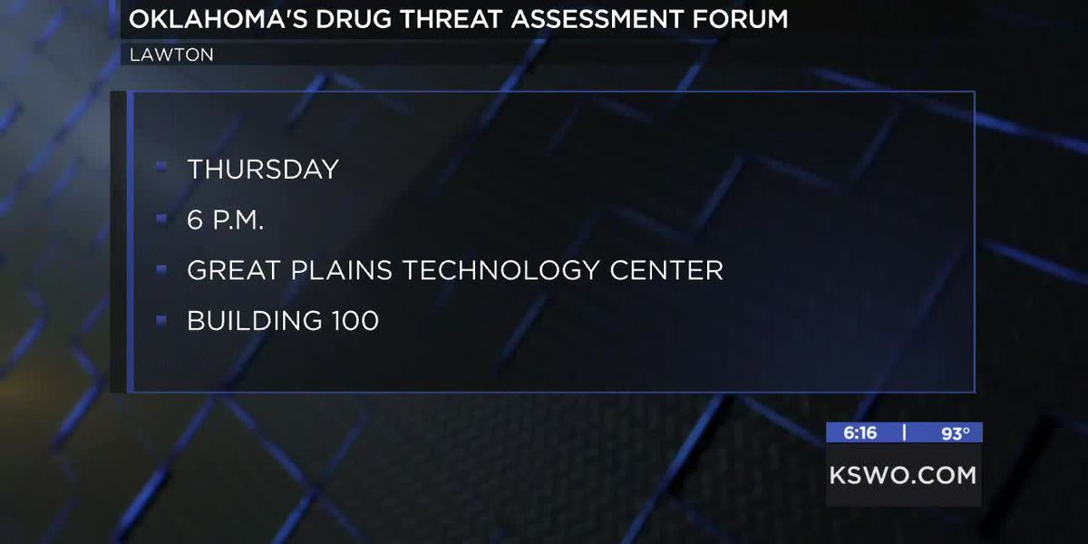 OBN hosting drug threat assessment forum