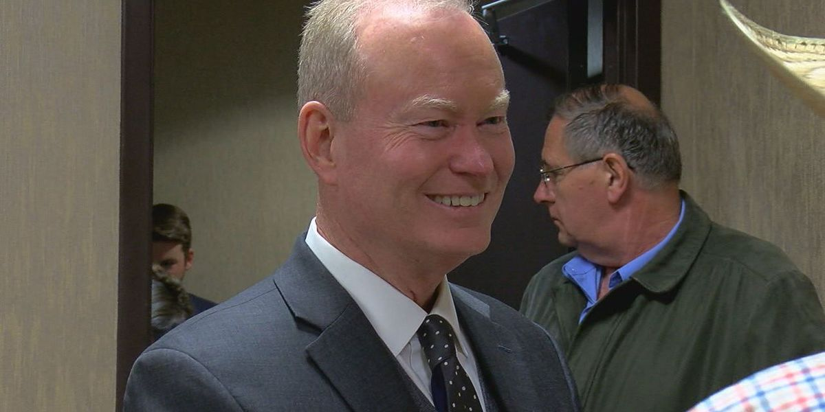 Cornett visits Lawton, discusses plans if elected governor