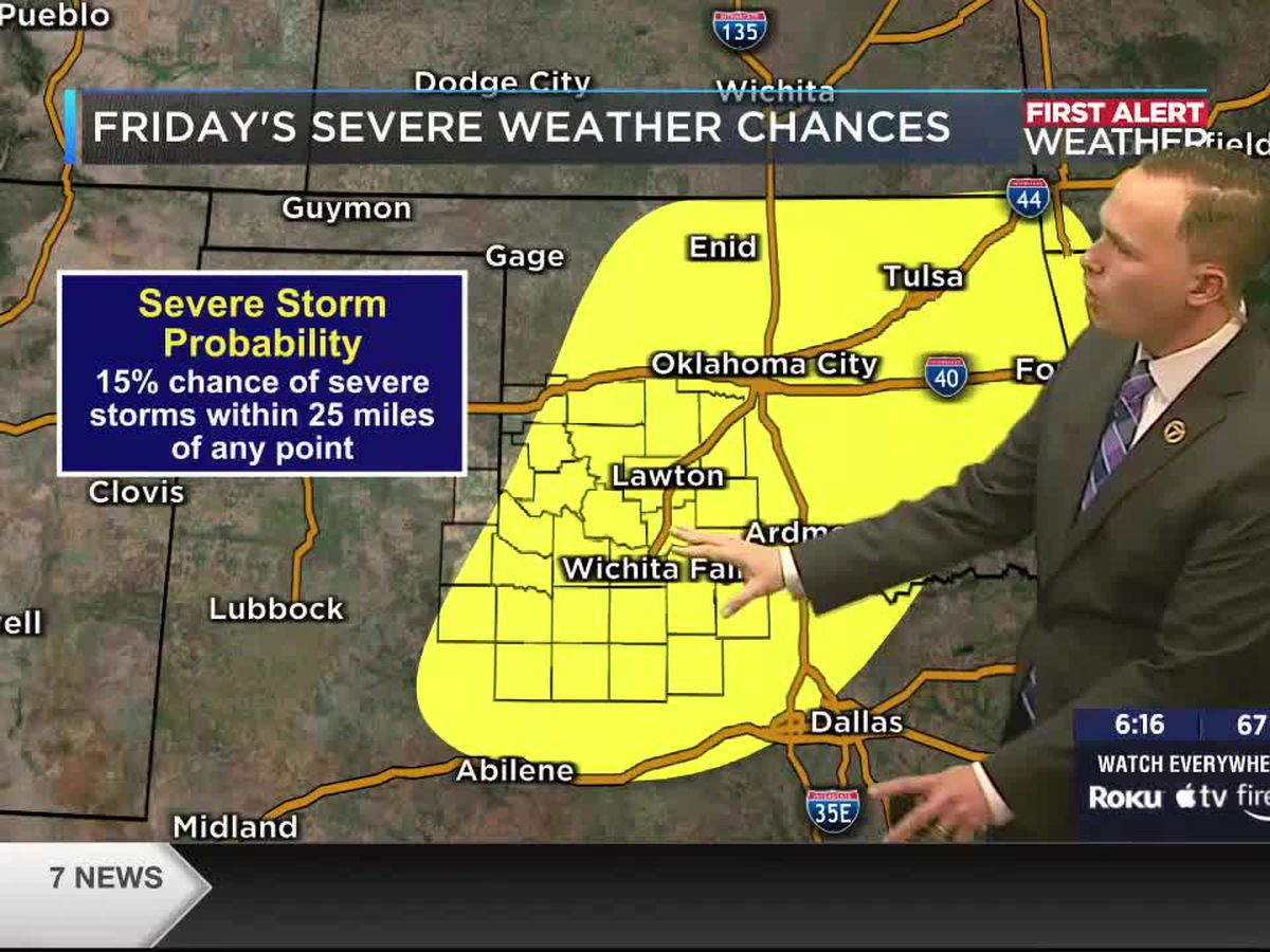 7 News First Alert Weather: An active week ahead from a Fire Weather Watch to a chance for strong storms