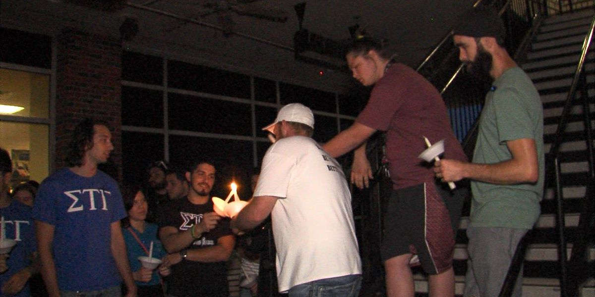 Candlelight vigil held for Cabe brothers