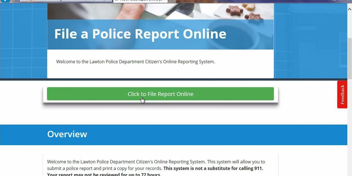 LPD says online police report filing is working