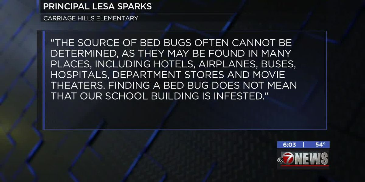 Lawton school responds to reports of bed bug infestation