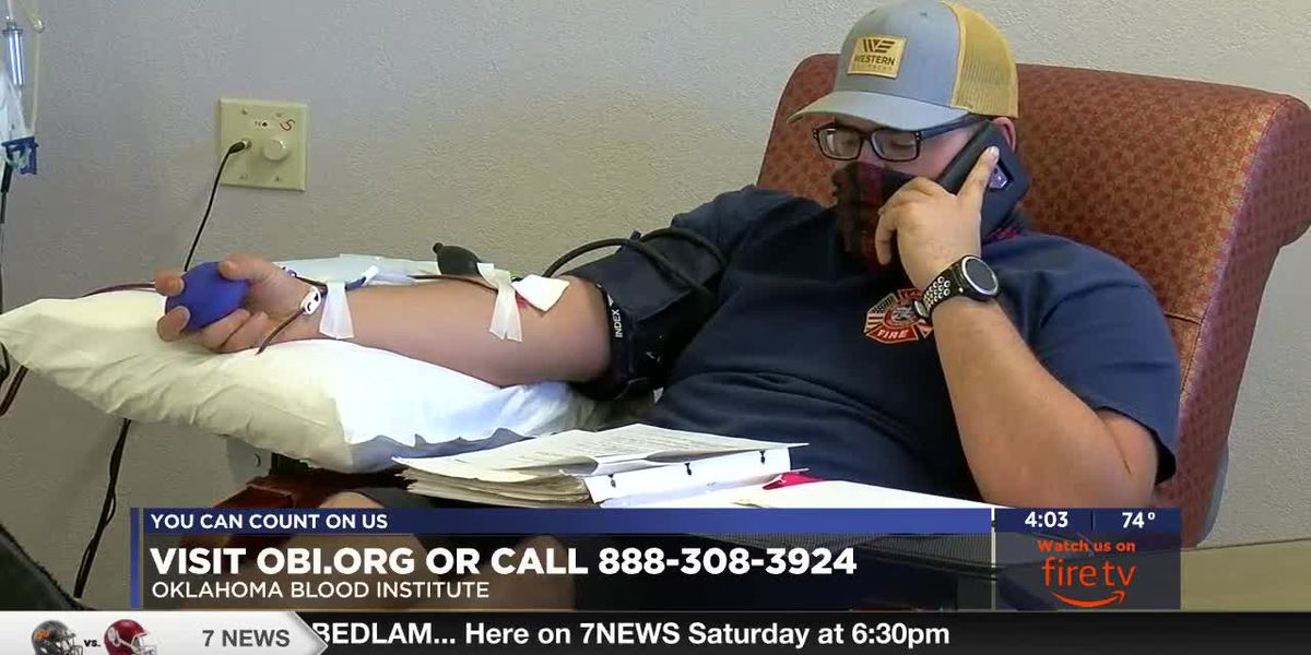 Oklahoma Blood Institute welcomes convalescent plasma donors