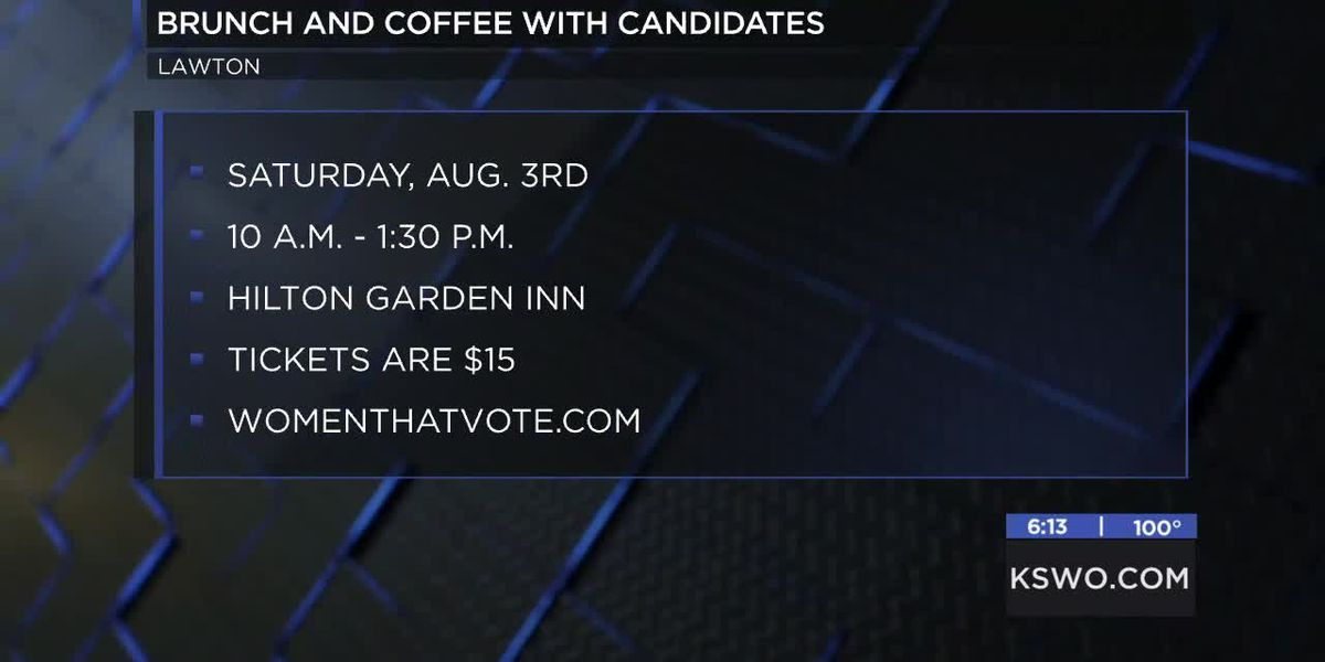 Women That Vote hosting Brunch and Coffee With Candidates