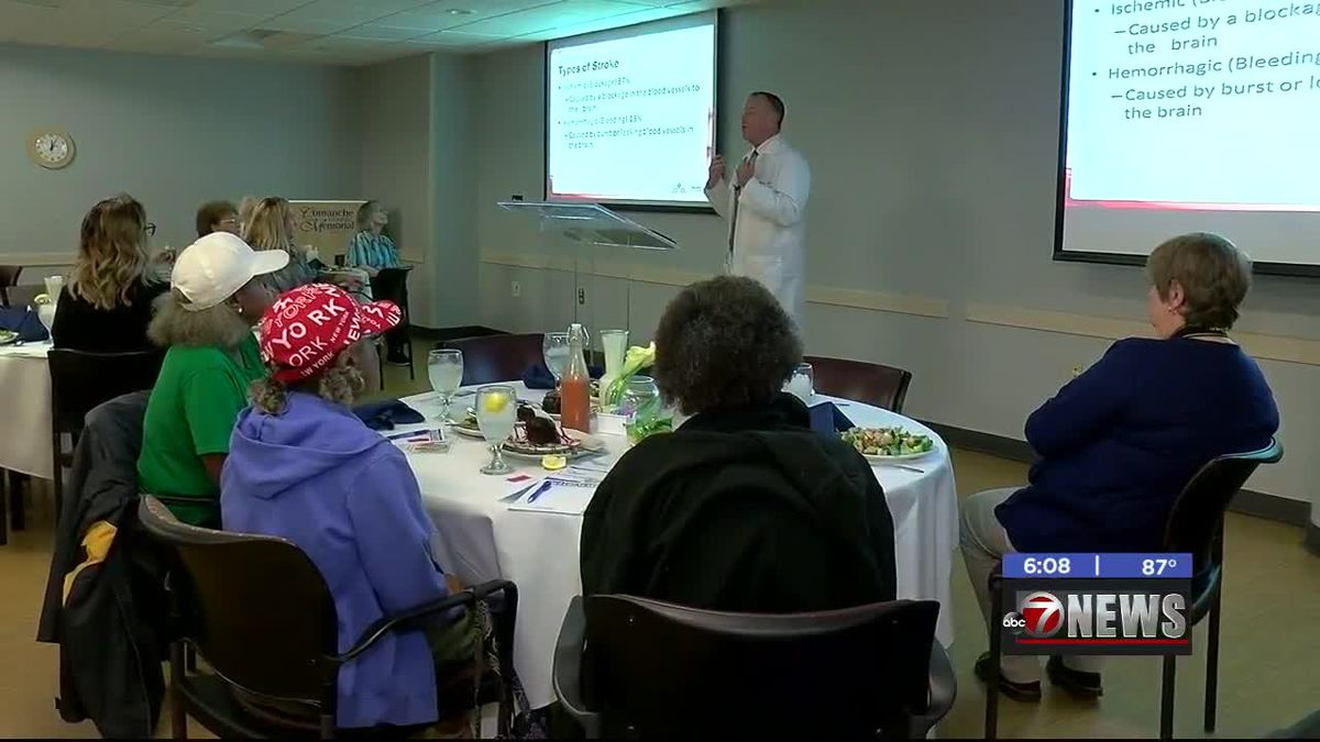 Comanche County Memorial Hospital hosts stroke awareness luncheon