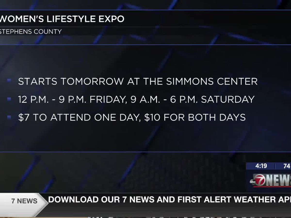 Simmons Center in Duncan hosts Women's Lifestyle Expo