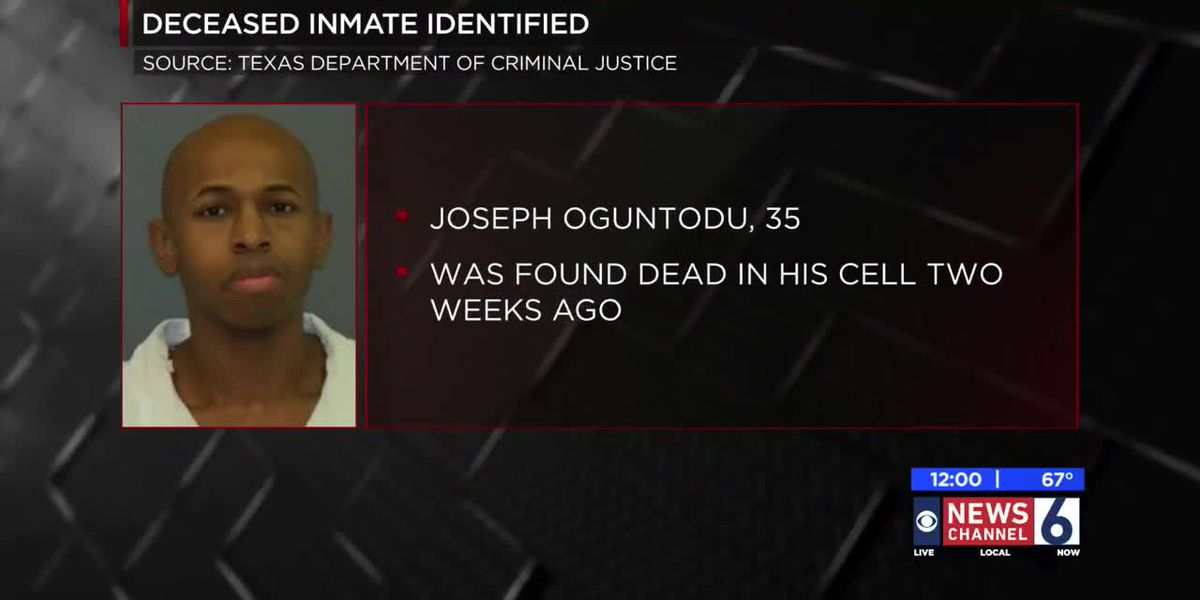 Deceased inmate identified, Allred Unit remains on lockdown