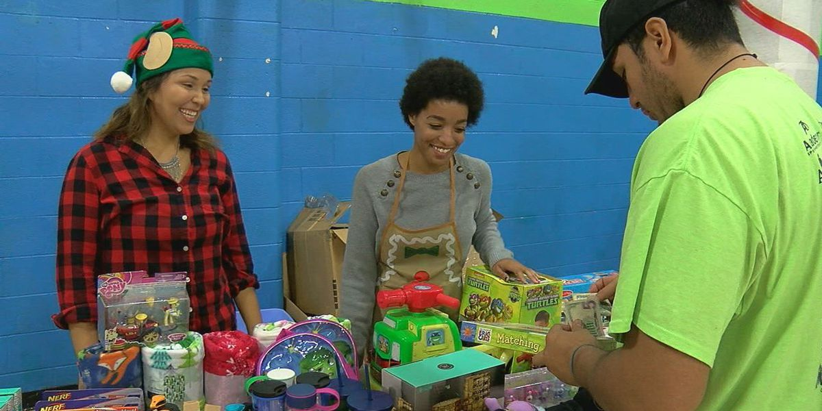 Santa's secret shop provides for students in need