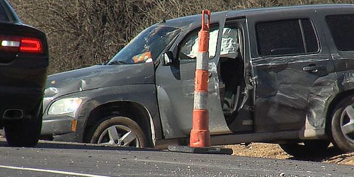 Woman treated for injuries after rollover