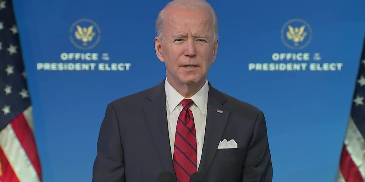 Biden remarks on COVID vaccine