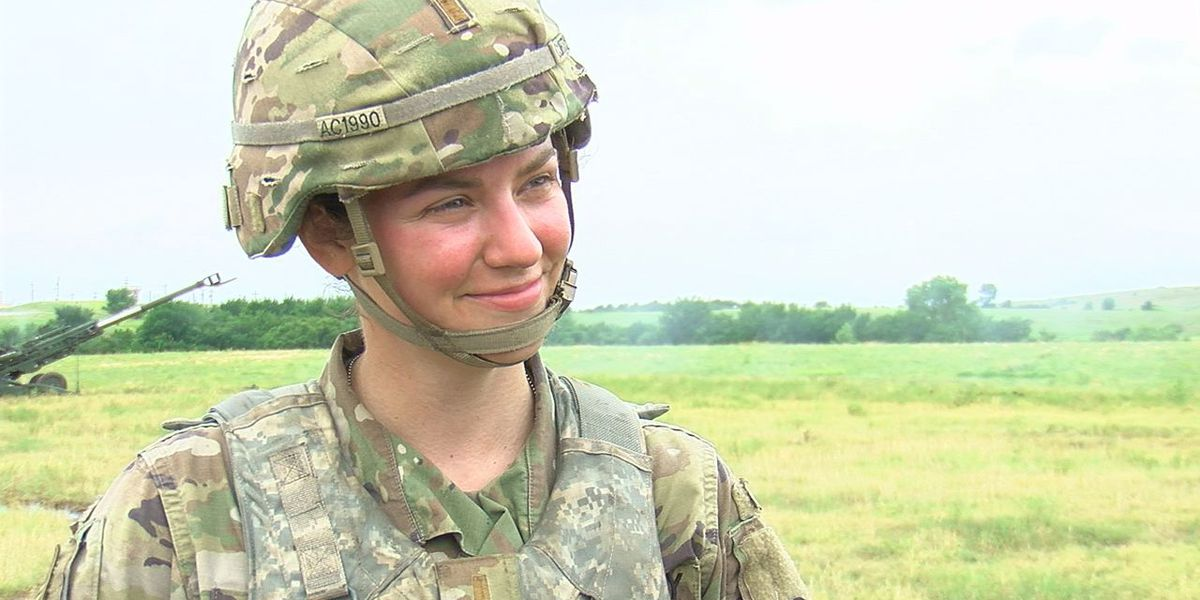 Former Miss Rhode Island completes leadership training on Fort Sill, encourages women to enlist