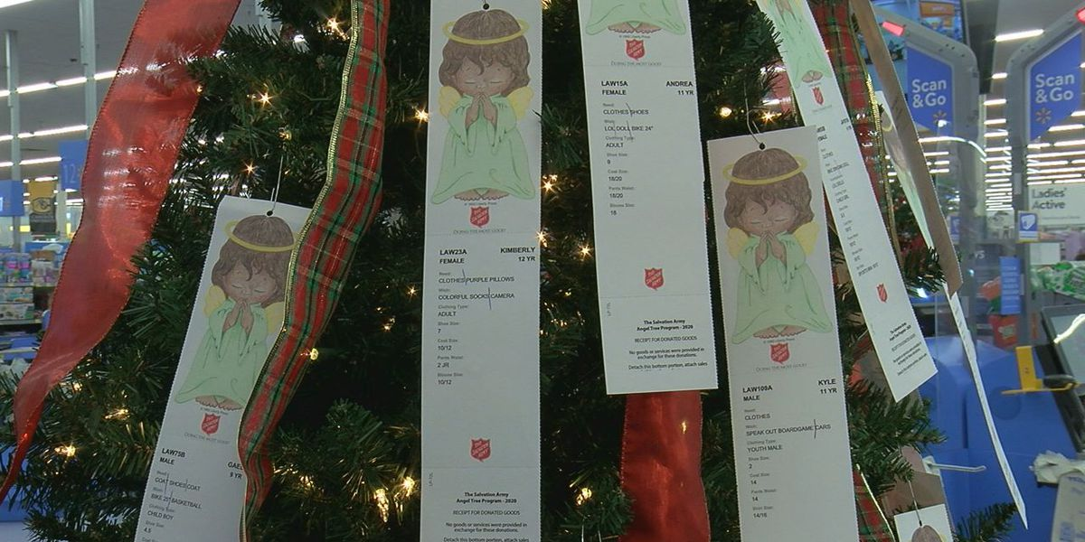 Several angels still available with Salvation Army Angel Tree deadline approaching