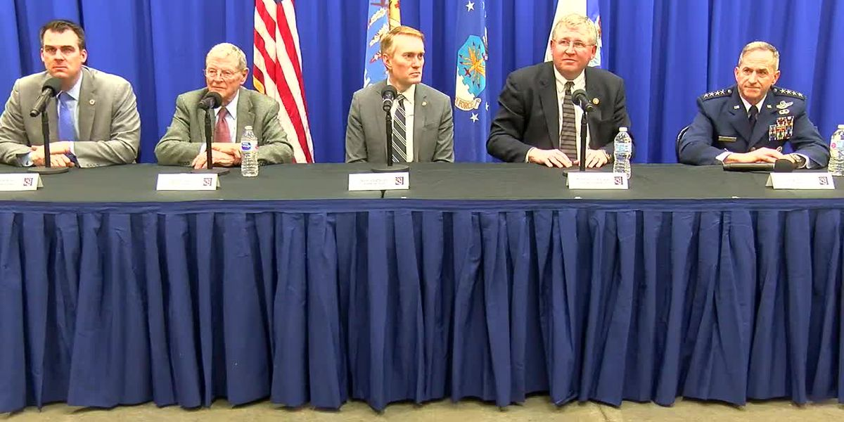 WATCH: Full Altus Air Force Base KC-46A press conference